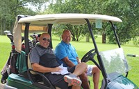 Golfer-Twosome