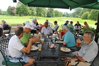 Golfers-Lunch
