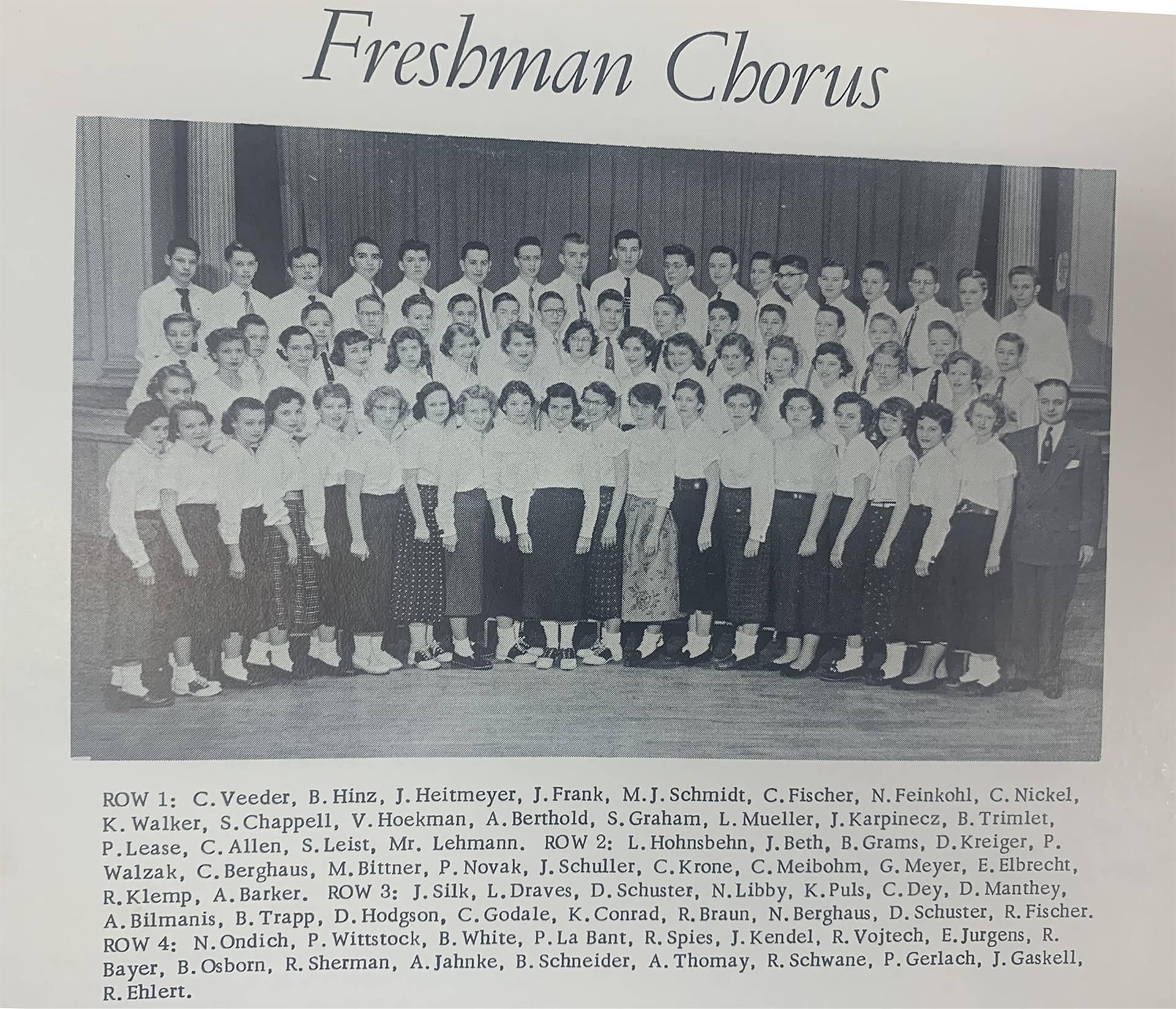 Freshman-Chorus