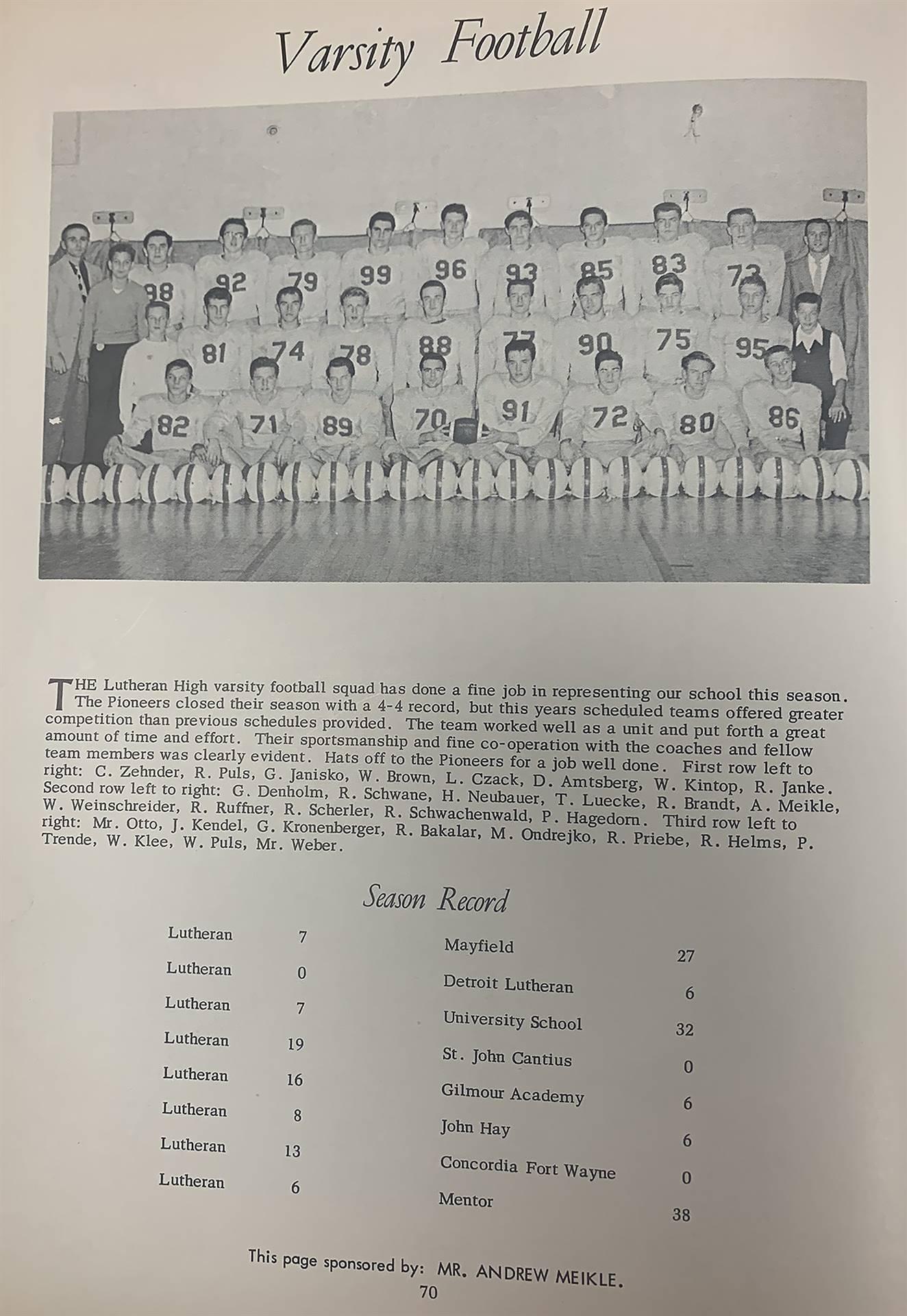 Varsity-football