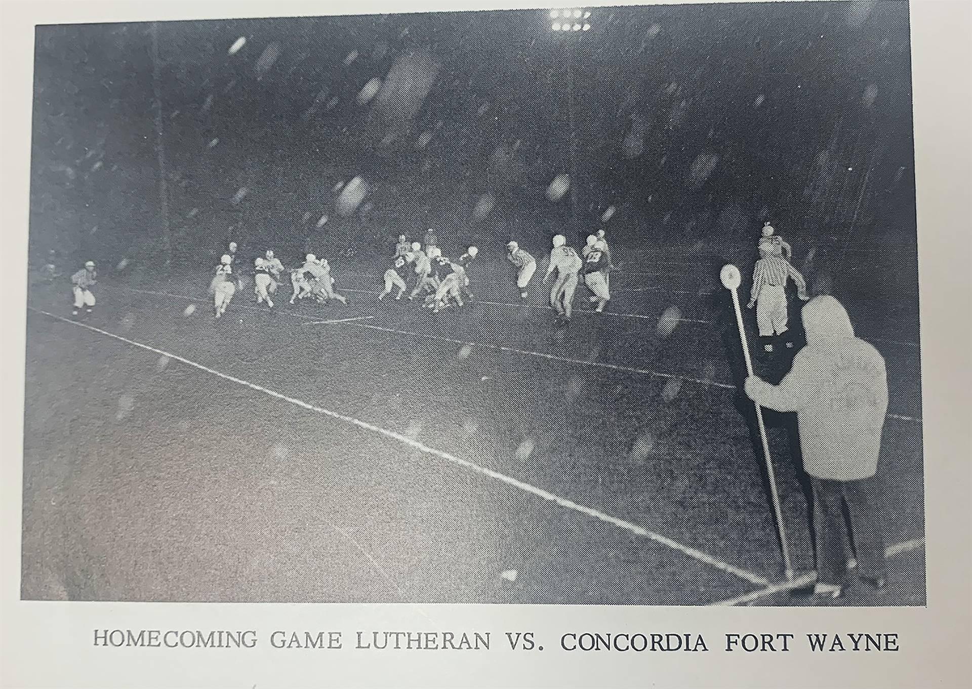 Lutheran-Football
