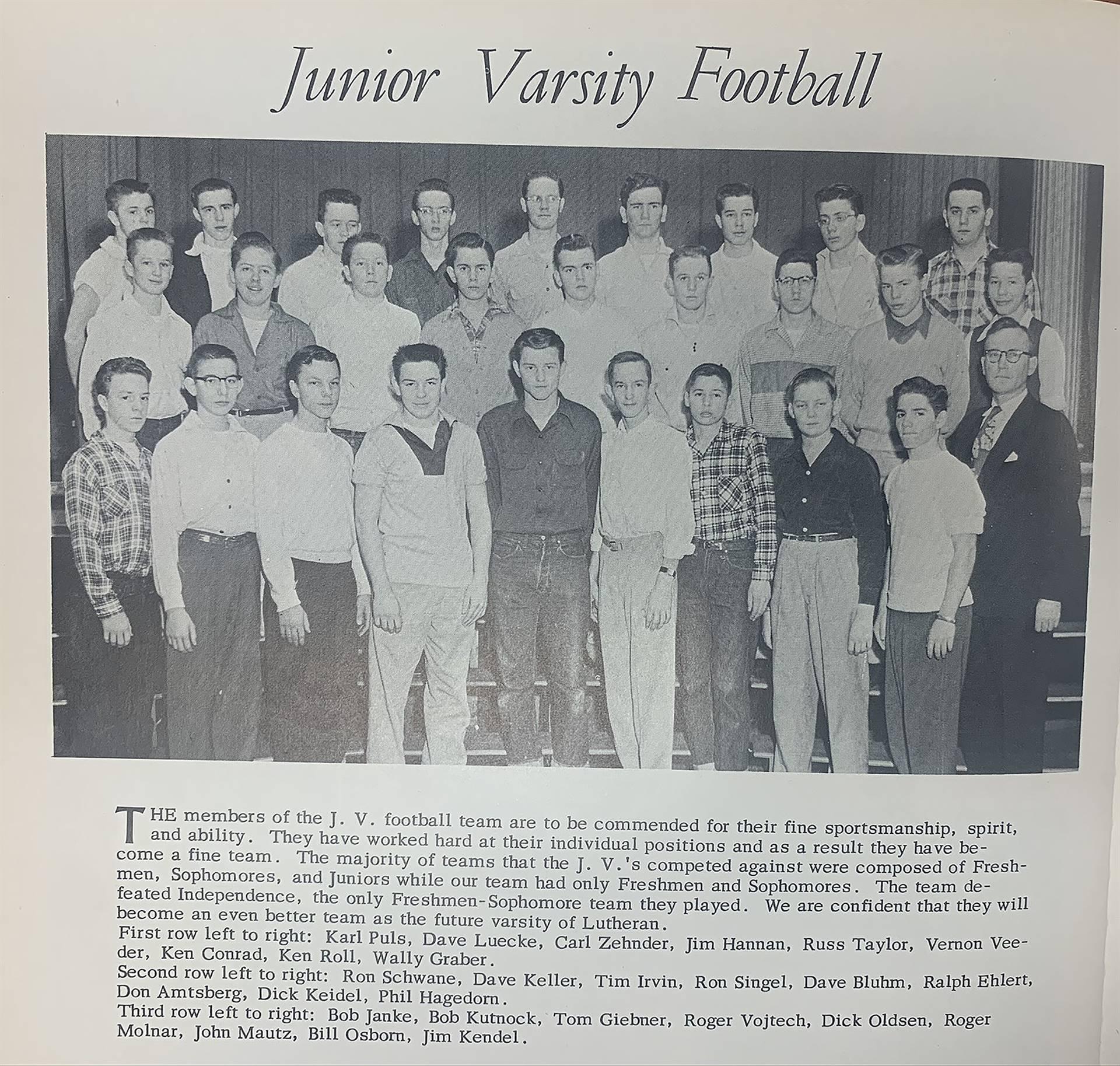 JV-Football